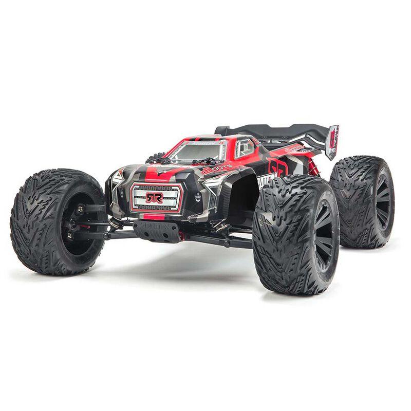 1/8 KRATON 6S BLX 4WD Brushless Monster Truck RTR, Black/Red