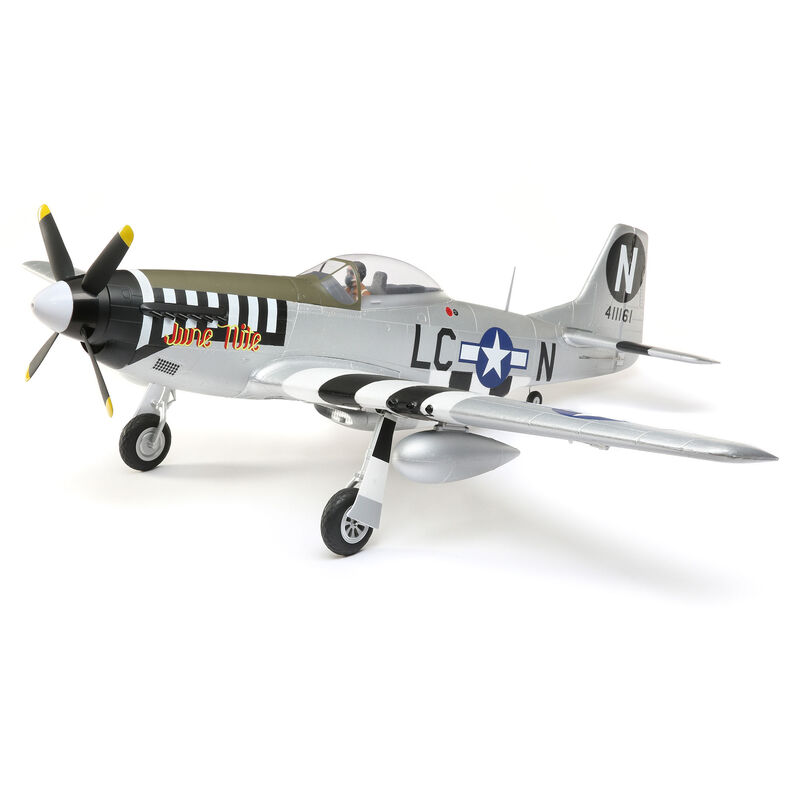 P-51D Mustang 1.2m BNF Basic with AS3X and SAFE Select