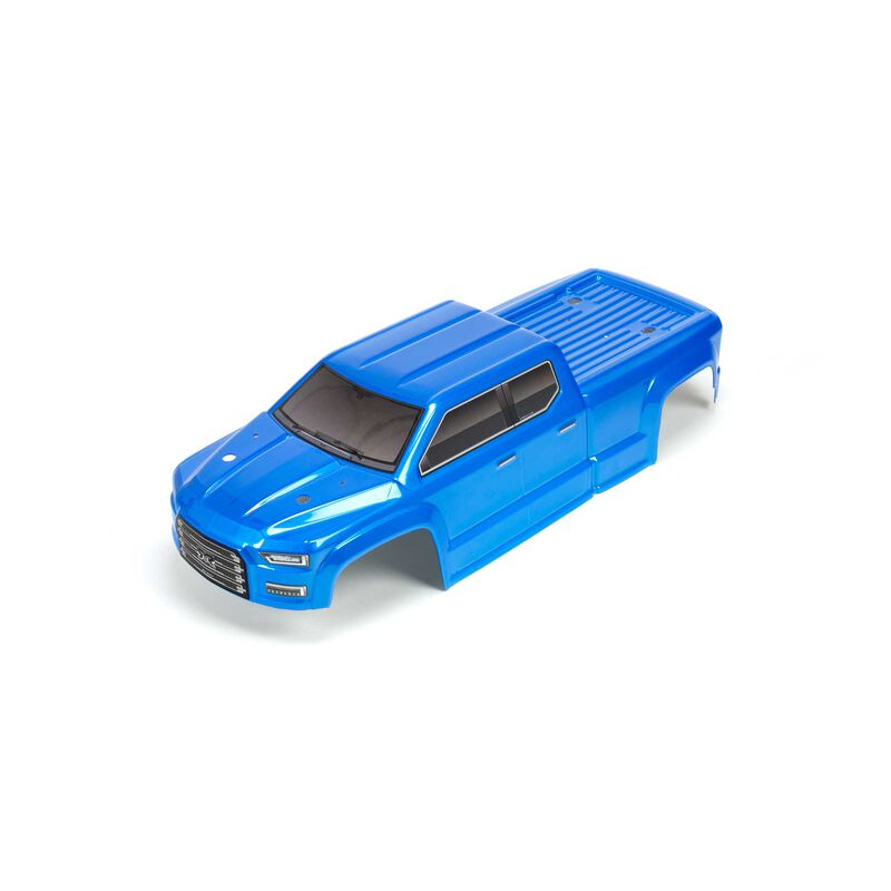 Painted DCLD Trimmed Body, Blue: BIG ROCK CREW CAB 4X4