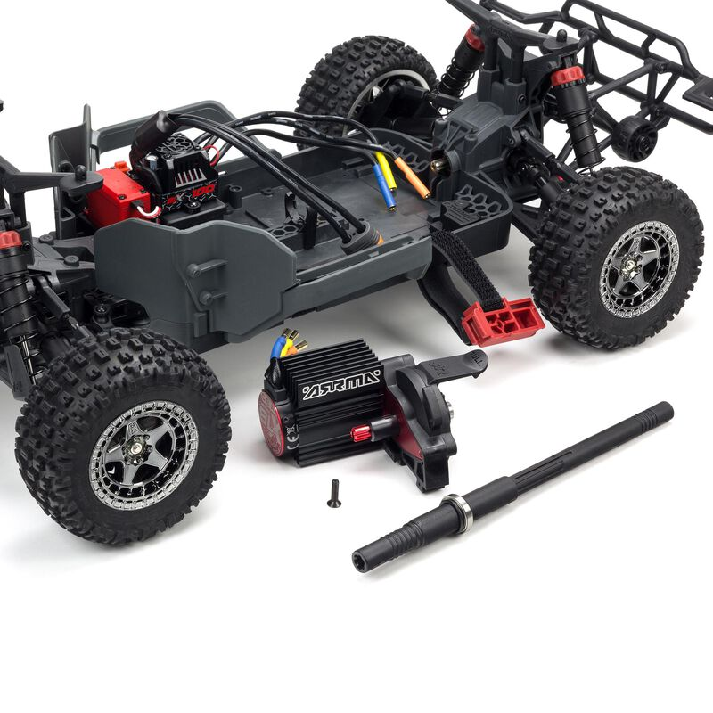 1/10 SENTON 3S BLX 4WD Brushless Short Course Truck with Spektrum RTR, Orange/Black