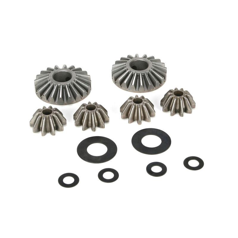 Internal Differential Gears & Shims (6): 5IVE-T, MINI WRC