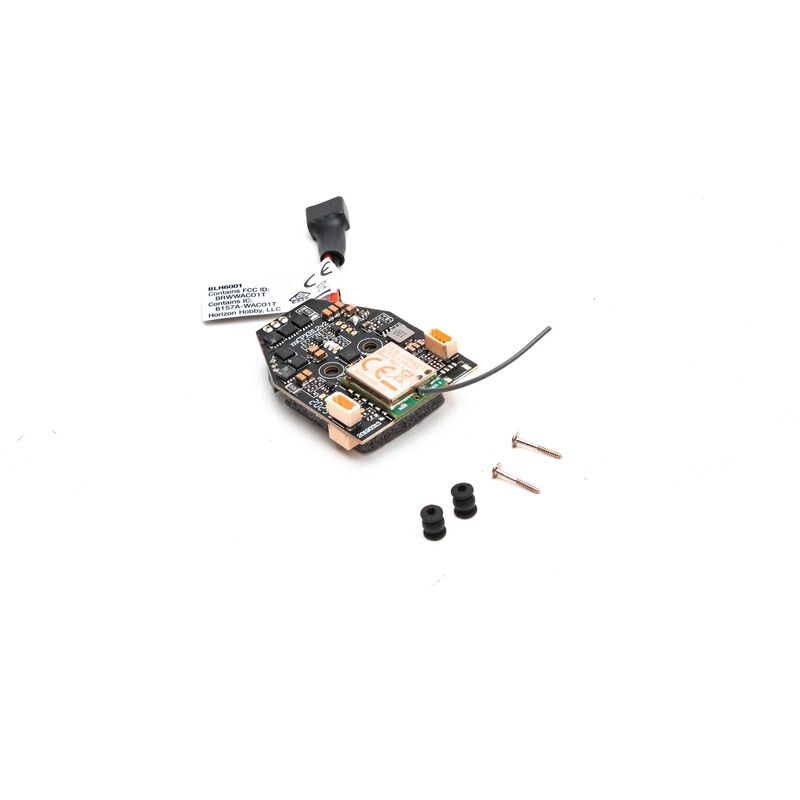 Flybarless Control Unit with Receiver: mCPX BL2