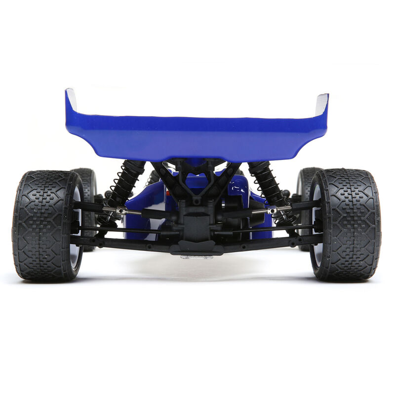1/16 Mini-B Brushed RTR 2WD Buggy, Blue/White