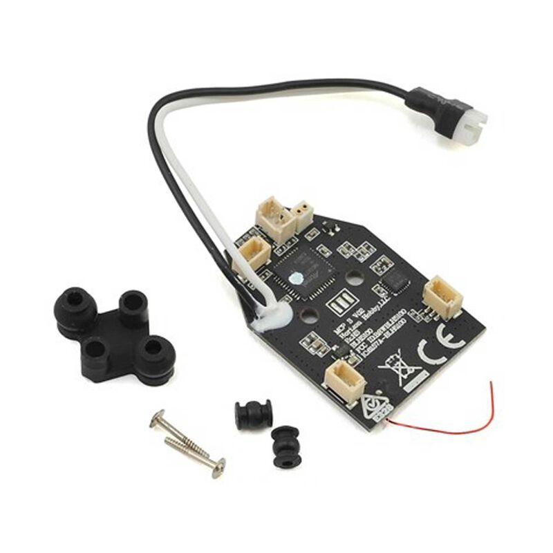 Flybarless 3n1 Control Unit, RX/ESC/Gryos: mCP S