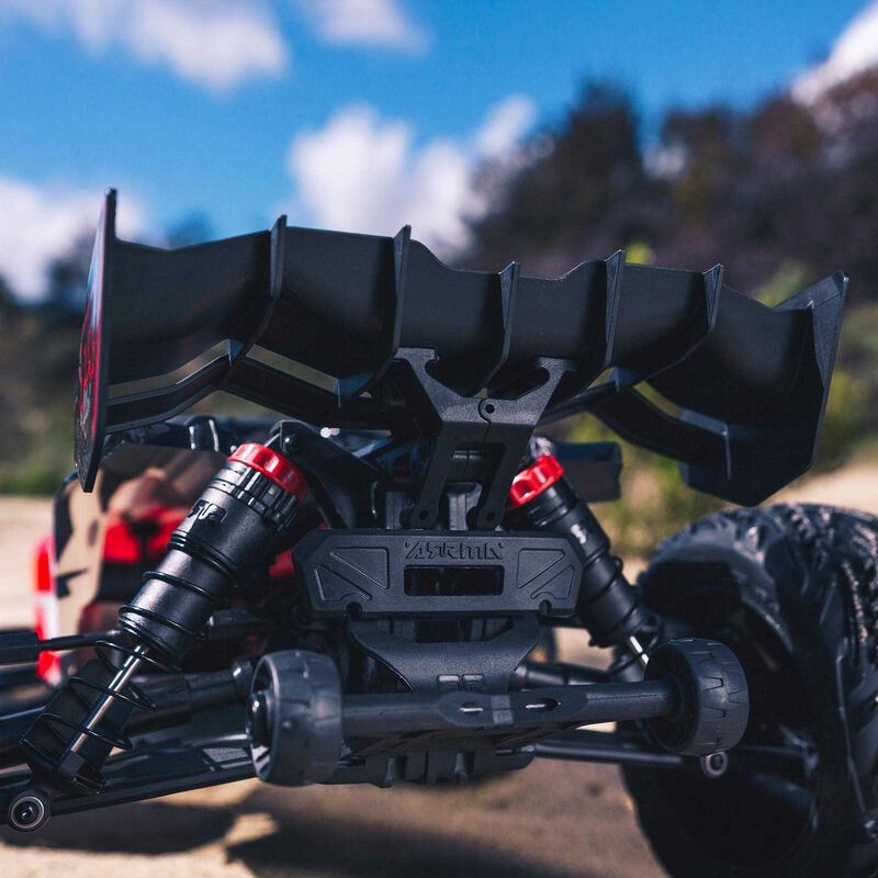 1/10 KRATON 4x4 4S BLX Brushless Monster Truck with Spektrum RTR, Red