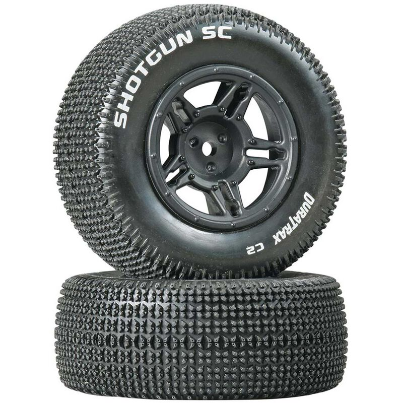 Shotgun SC Tire C2 Mounted Rear Tires: Slash (2)