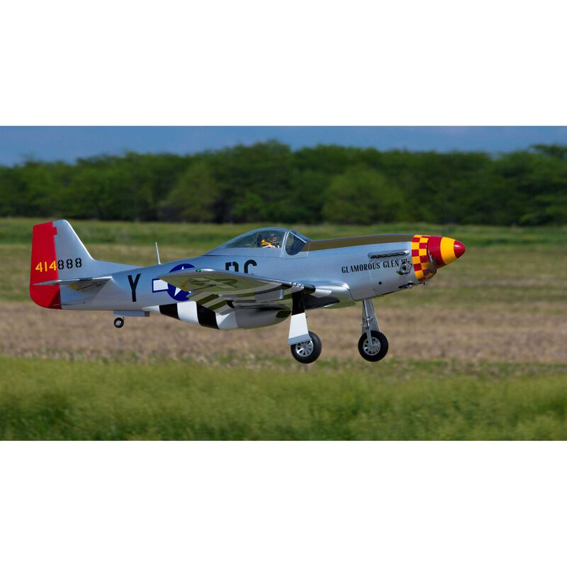 """P-51D Mustang 60cc ARF, 89"""""""