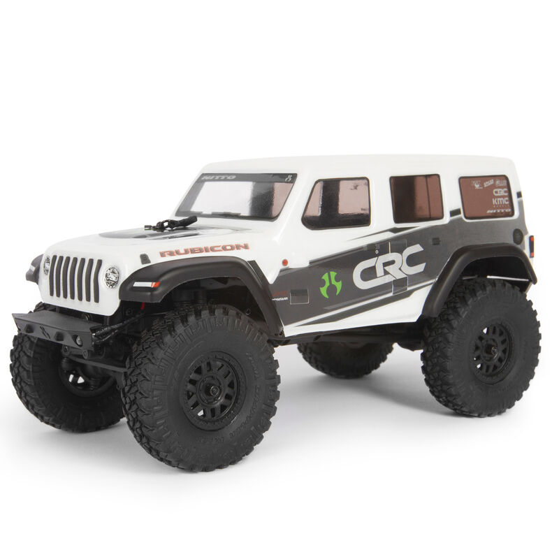 1/24 SCX24 2019 Jeep Wrangler JLU CRC 4WD Rock Crawler Brushed RTR