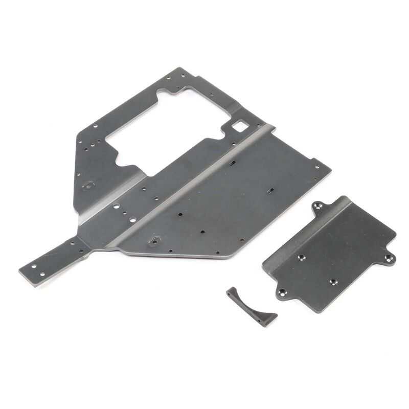 Chassis and Motor Cover Plate: Super Baja Rey
