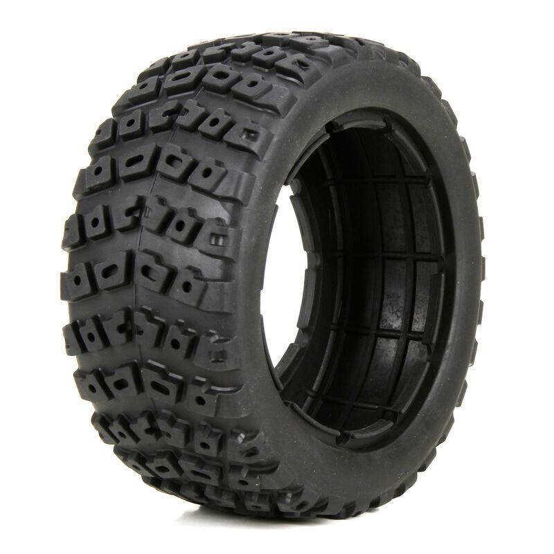 1/5 Left & Right Front/Rear 4.75 Tire & Foam Inserts (2): DB XL