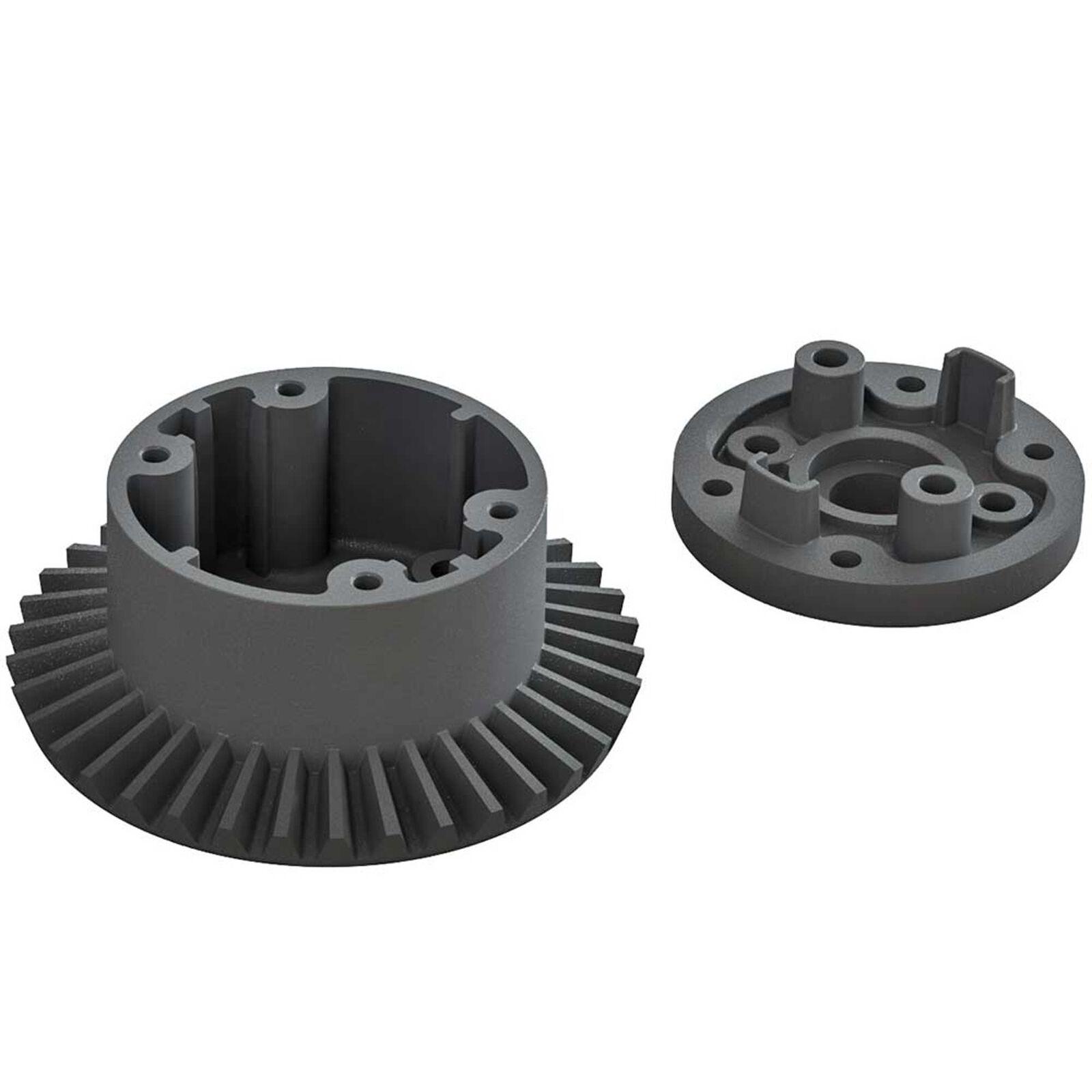 Differential Case Set 37T Main Gear: BLX 3S