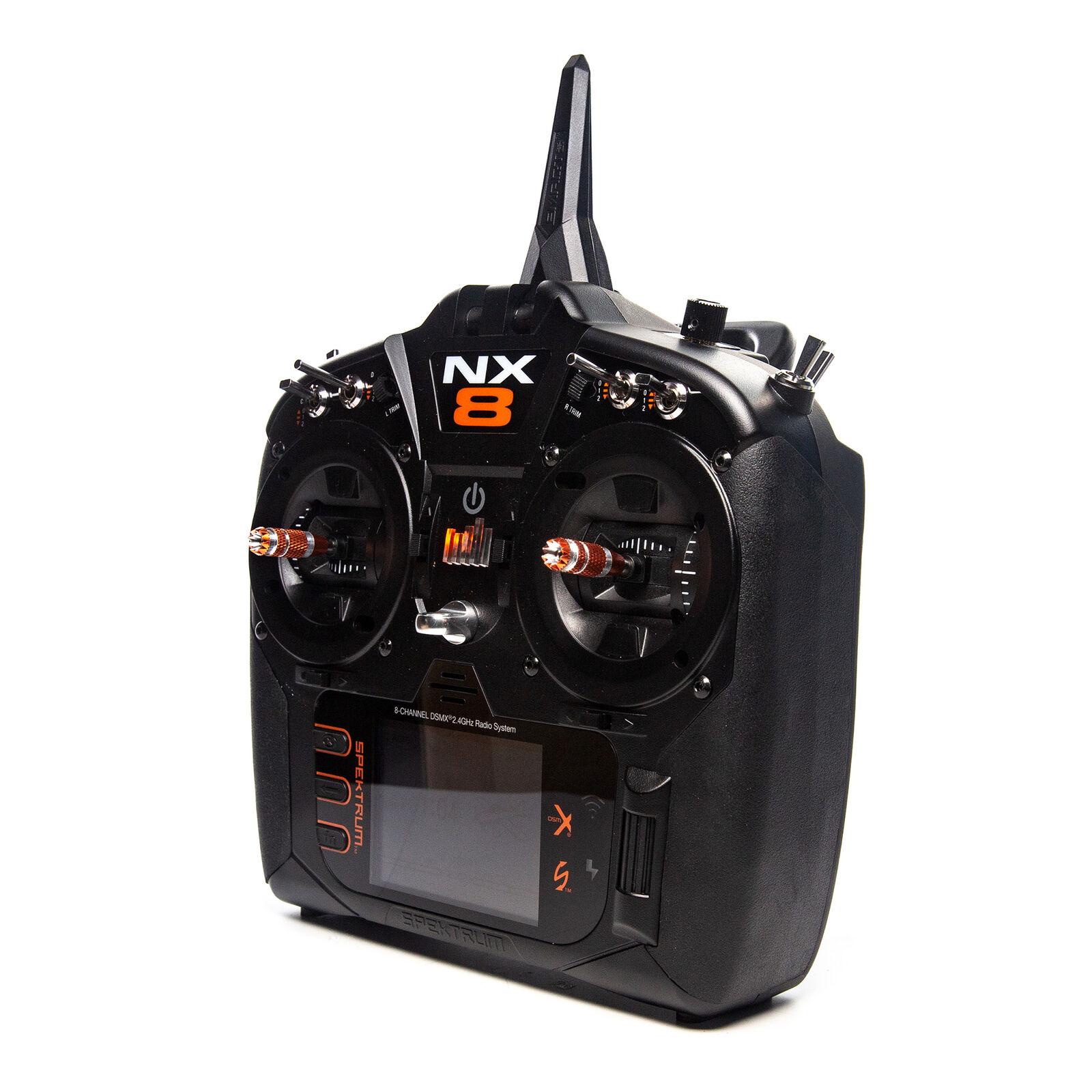 NX8 8-Channel DSMX Transmitter Only, Intl.