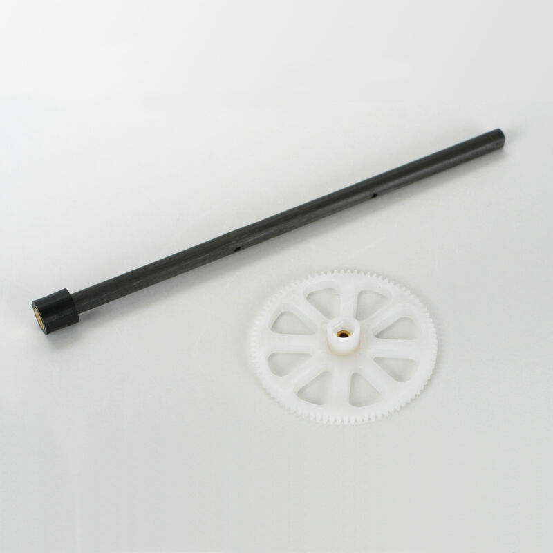 BmCX -Axe rotor extérieur, couronne+fixation