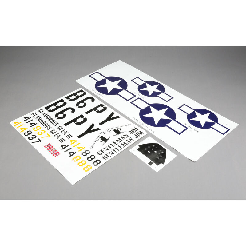 Decal Sheet: P-51D 60cc