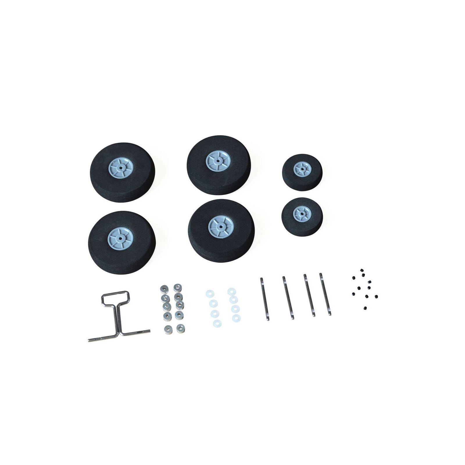 Wheel Set (Wheels and Axles): EC-1500
