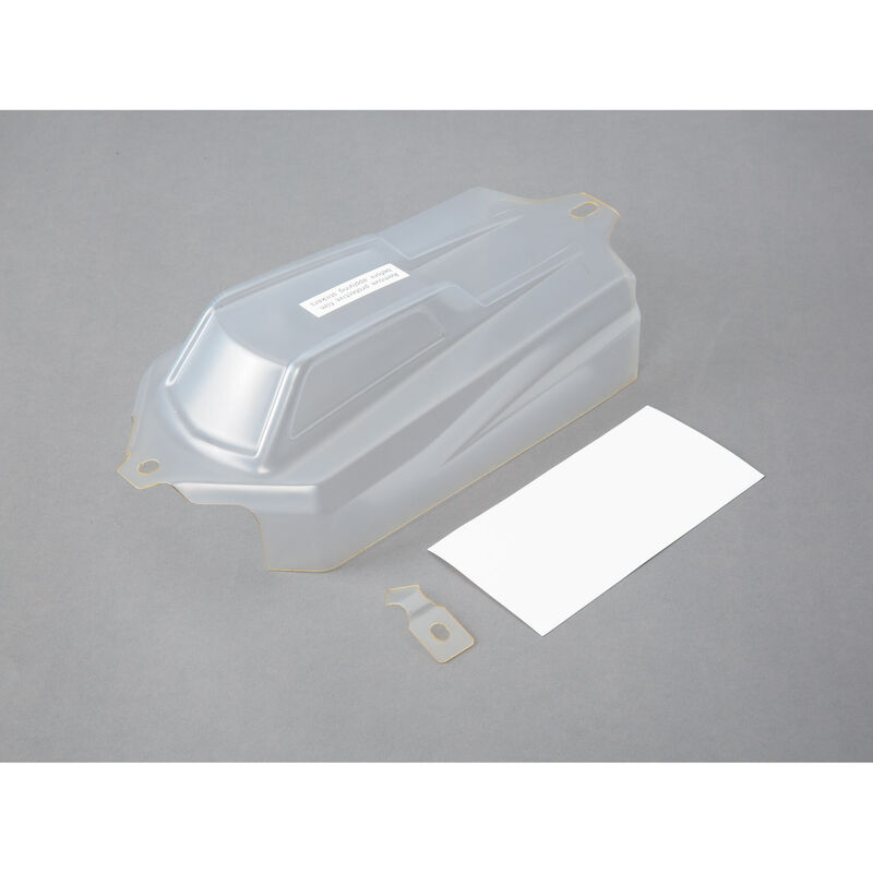 1/8 Cab Forward Clear Body Set: 8IGHT-E 3.0