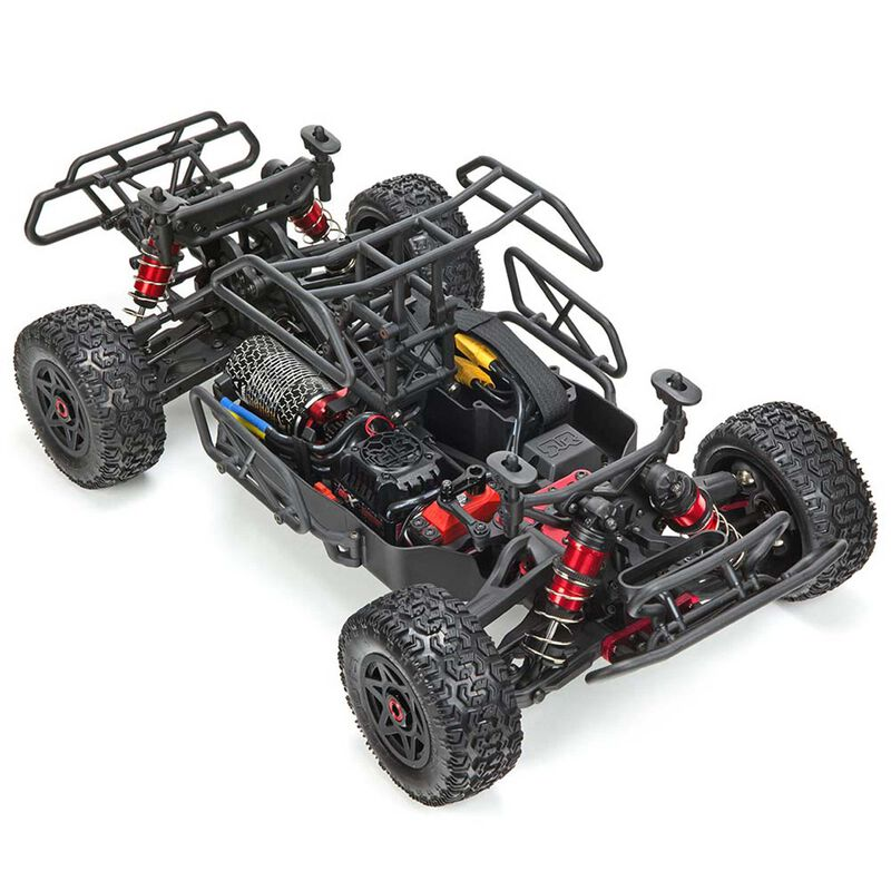 1/10 SENTON 6S BLX 4WD Brushless Short Course RTR, Black/Green