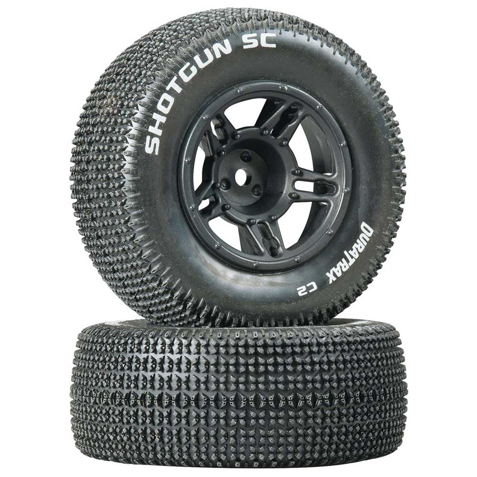 1/10 Shotgun SC Tire C2 Mounted Front Tires: Slash (2