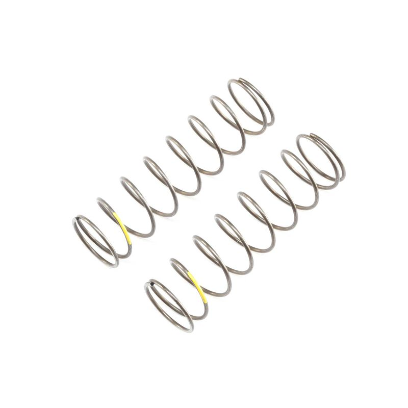 16mm EVO Rear Shock Spring, 4.2 Yellow (2): 8B 4.0, 8XE