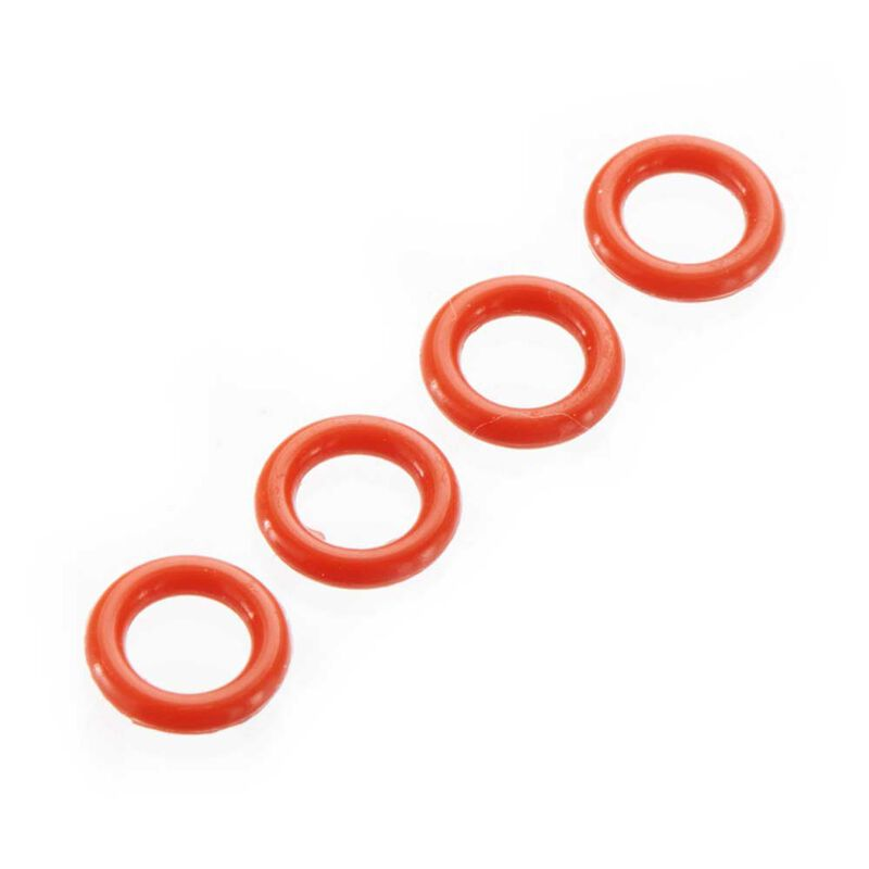 O-Ring P-5 4.5x1.5mm Red (4)