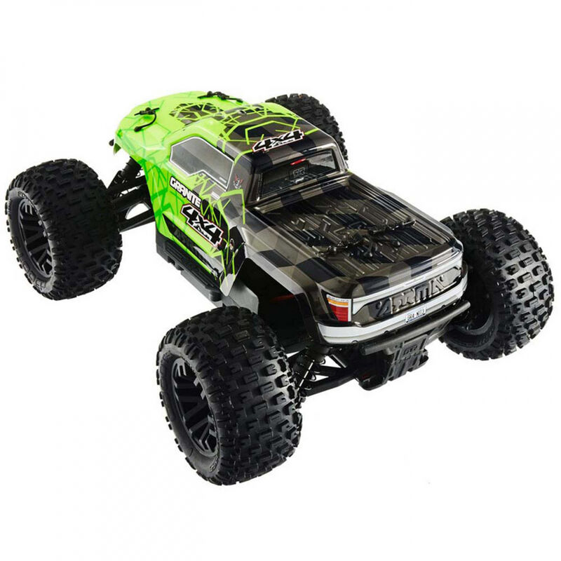 1/10 GRANITE 4x4 Mega Brushed Monster Truck RTR, Green/Black