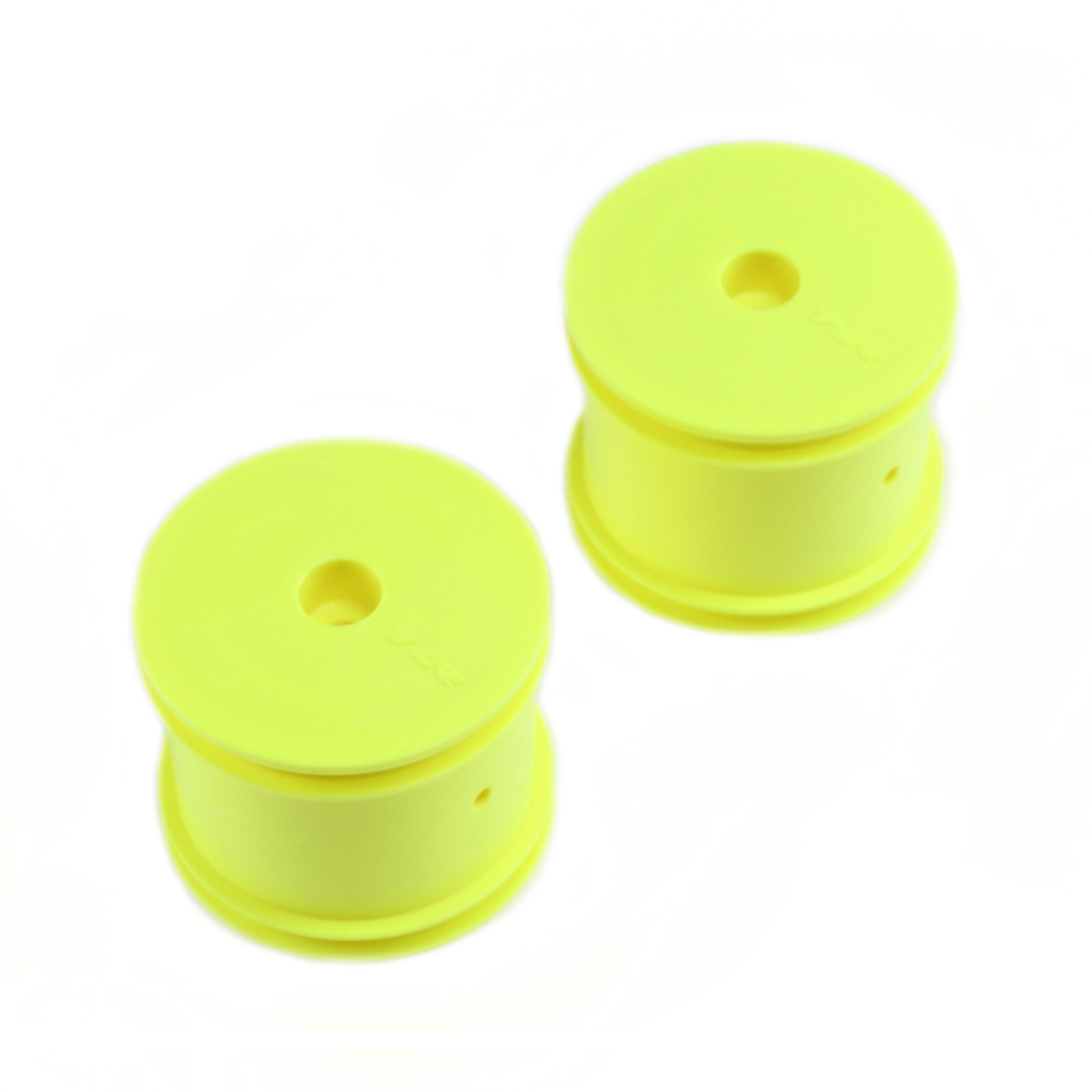 1/10 Front/Rear Truggy 2.2 Wheels, 12mm Hex, Yellow (2): 22T
