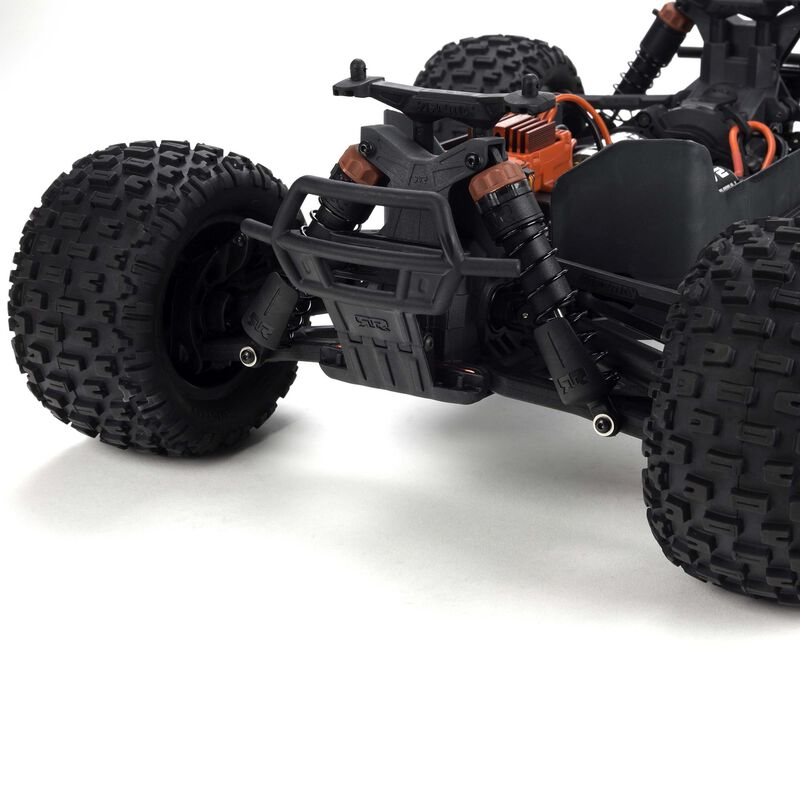 1/10 GRANITE MEGA 550 Brushed 4WD Monster Truck RTR Int, Red/Black