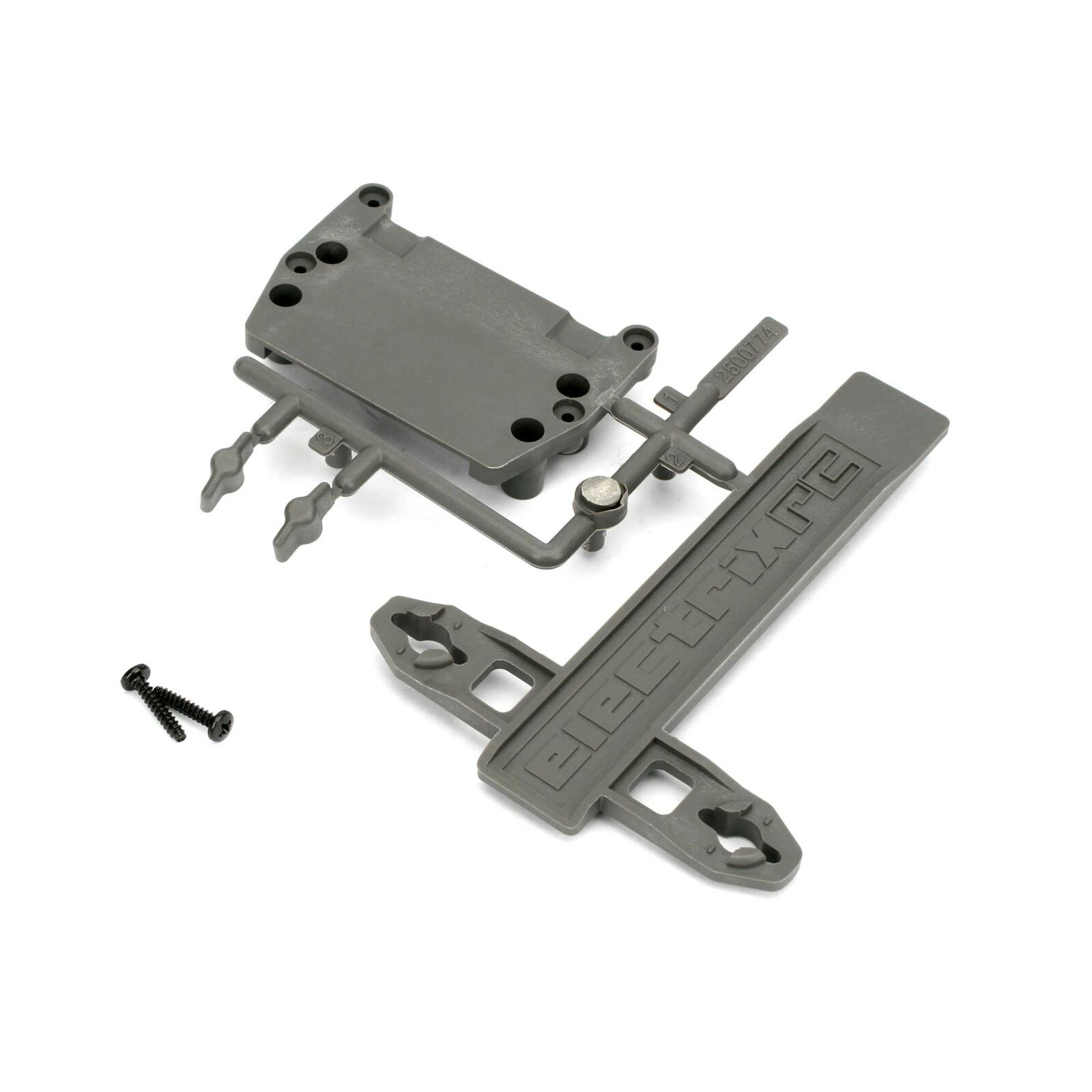 Battery Strap, ESC Plate: 1/10 2WD Circuit, Boost