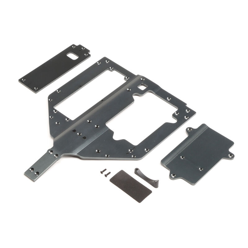 Chassis Motor & Battery Cover Plates: Super Rock Rey