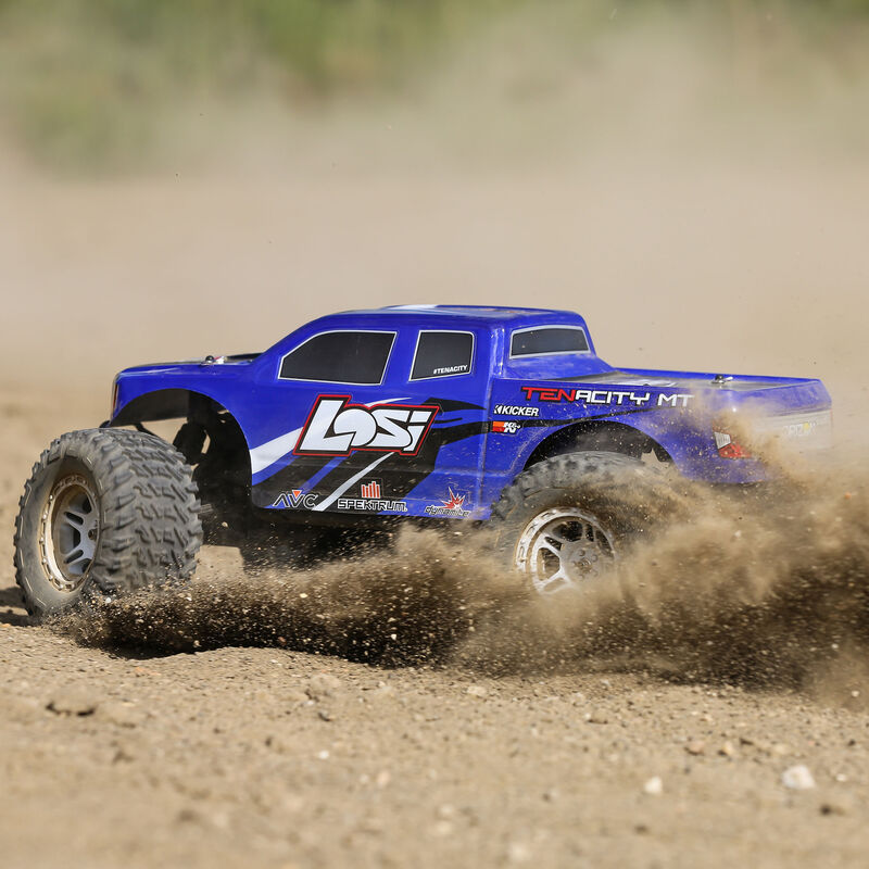 1/10 TENACITY 4WD Monster Truck  Brushless RTR with AVC, Blue
