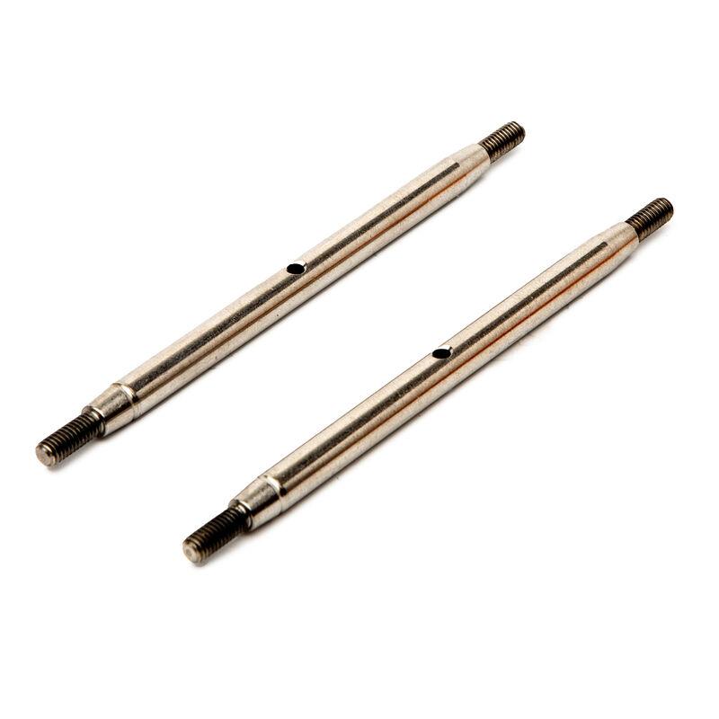 Stainless Steel Links, M6 x 105mm (2): SCX10 III