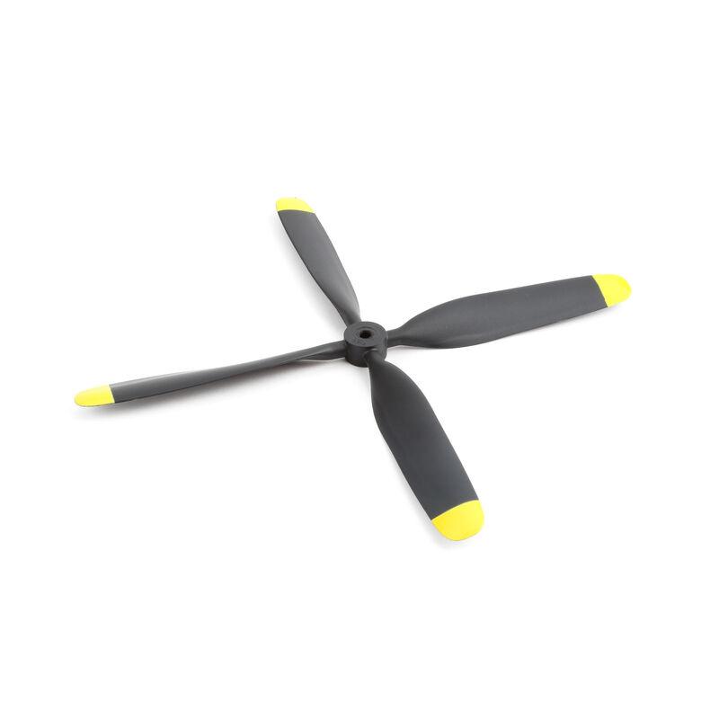 Propeller, 4 Blade, 10.5x8: P-51D 1.2m