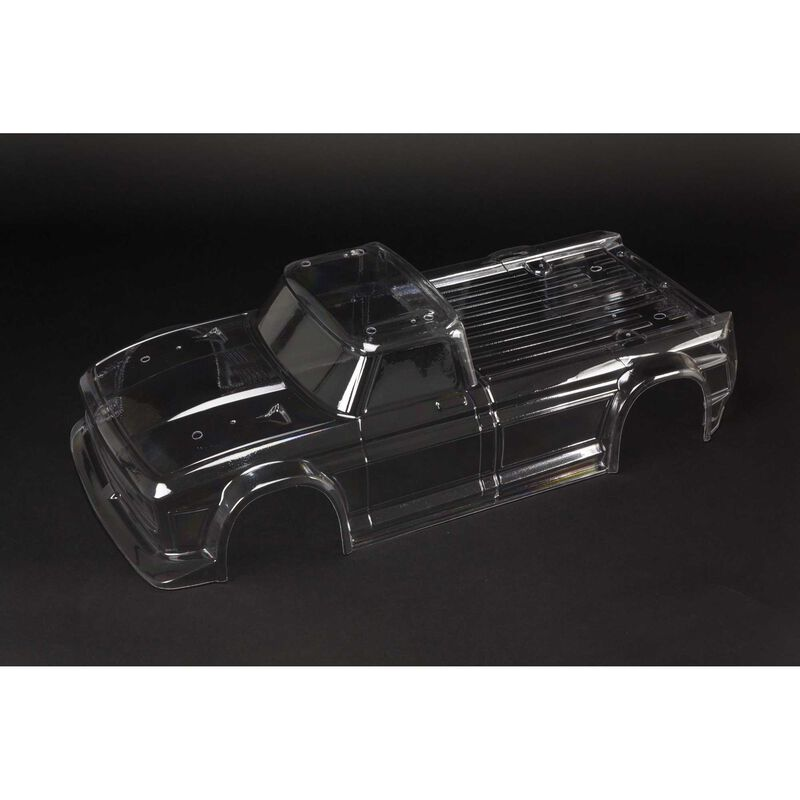 Clear Body with Decals: Infraction 6S BLX