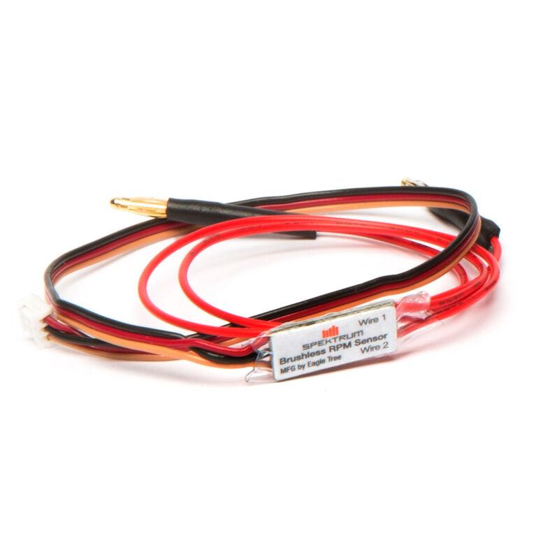 DSMX/DSMR Telemetry BL RPM Sensor with Bullets