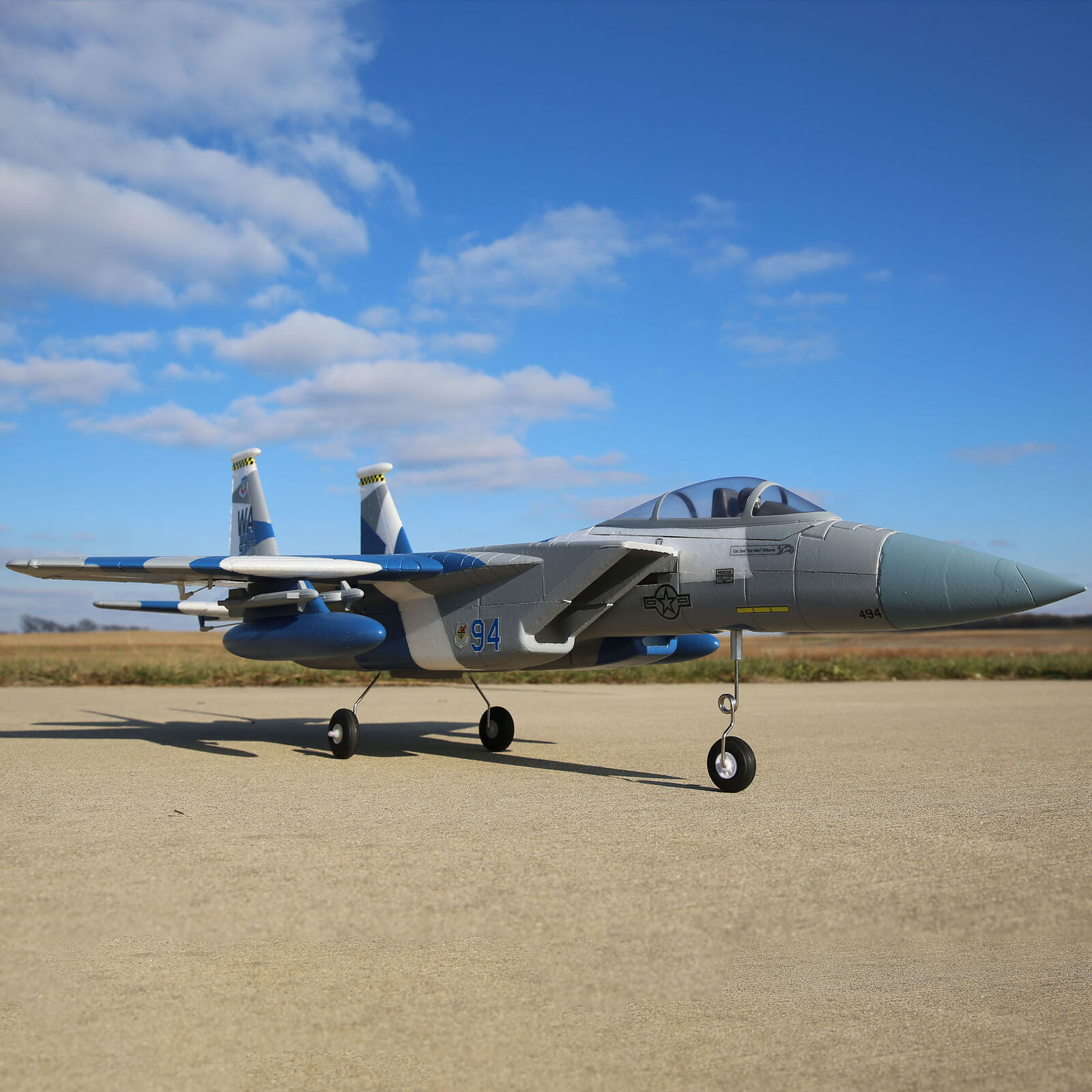 F-15 64mm BNF Basic with AS3X and SAFE Select