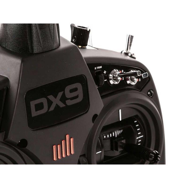DX9 Black 9-Channel DSMX Transmitter Only EU Version