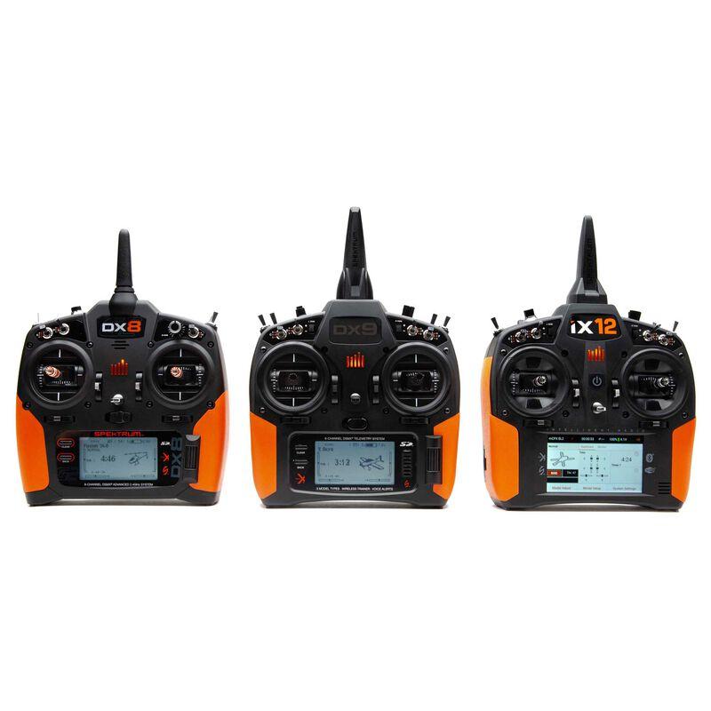Orange Grip Set with Tape: DX6 G2/3, DX8 G2