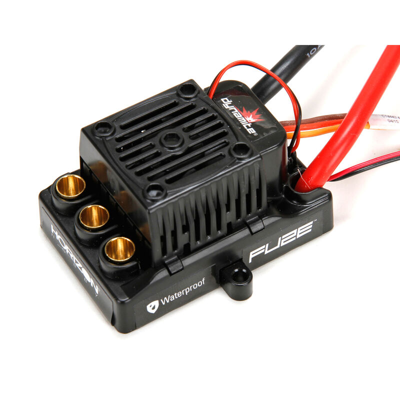 Fuze 90A Brushless Waterproof ESC, 6S: LST-E