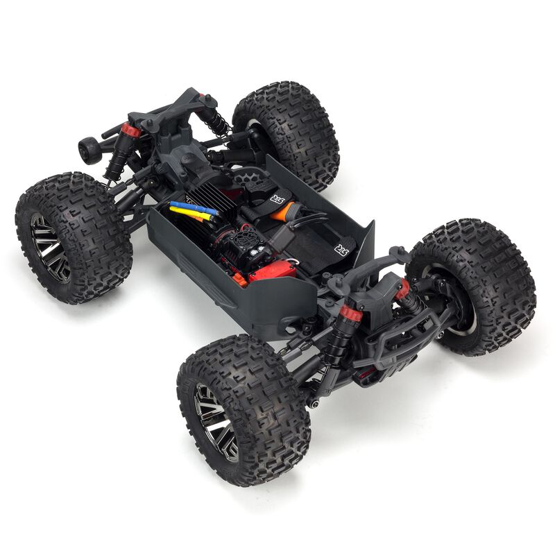 1/10 GRANITE 3S BLX 4WD Brushless Monster Truck with Spektrum RTR, Orange/Black