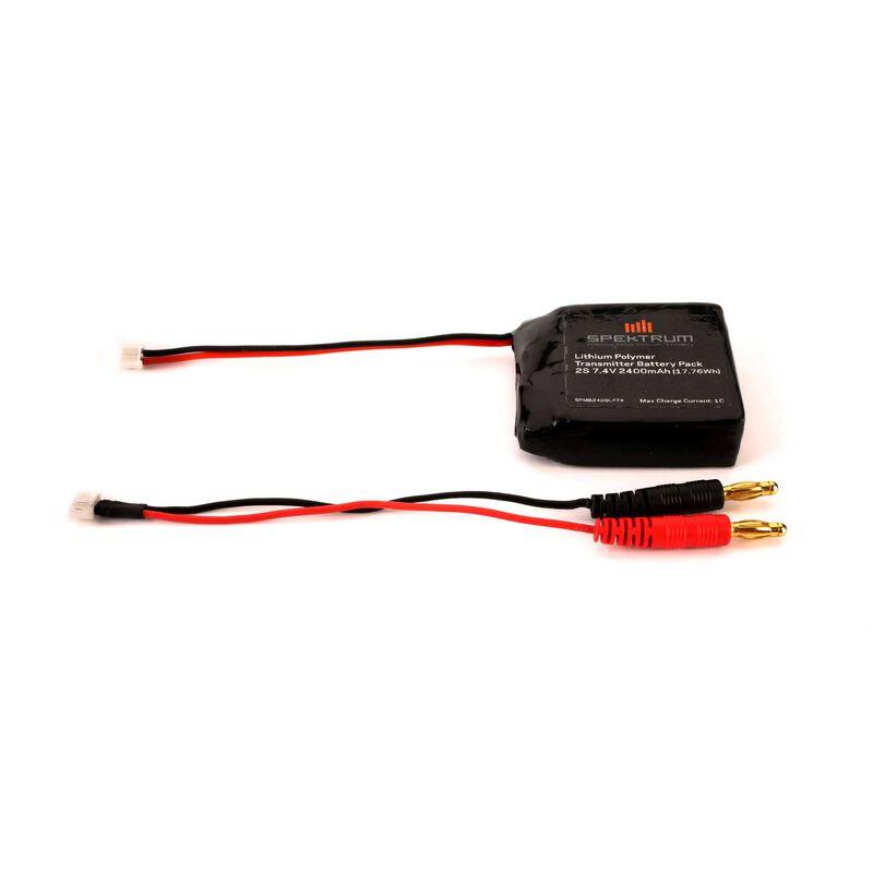 DX4s -Batterie Tx Li-Po 2400mA