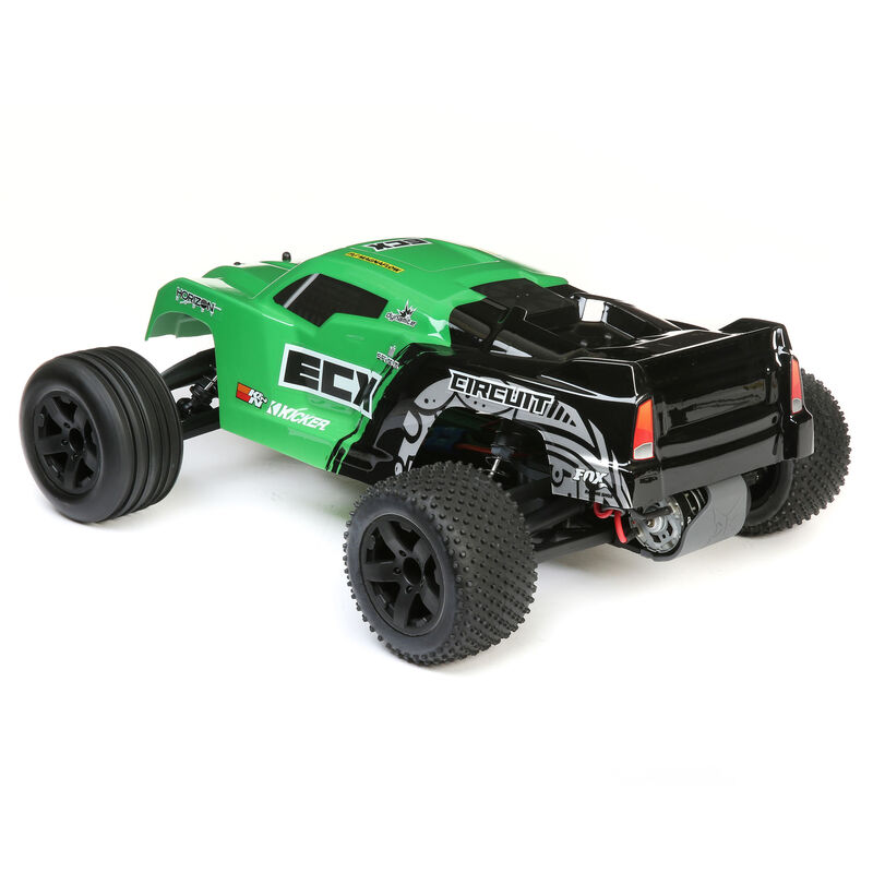 1/10 Circuit 2WD Stadium Truck Brushed RTR, Green