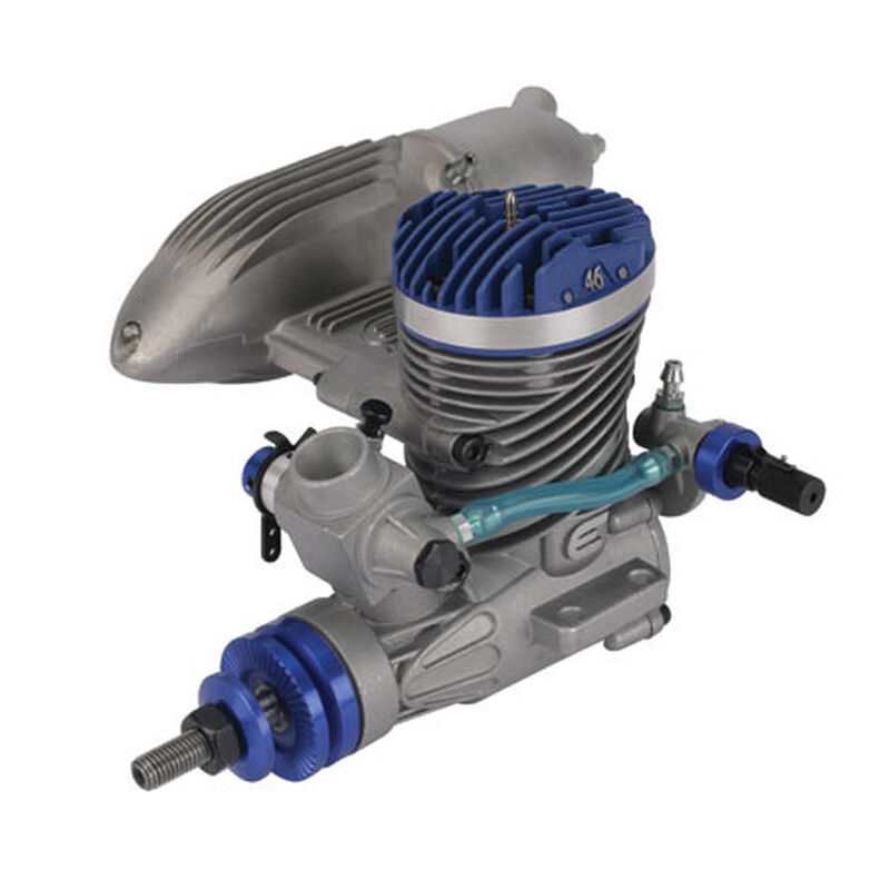Evolution 46NX 7,7 cc Glühzündungsmotor m. Schalldämpfer