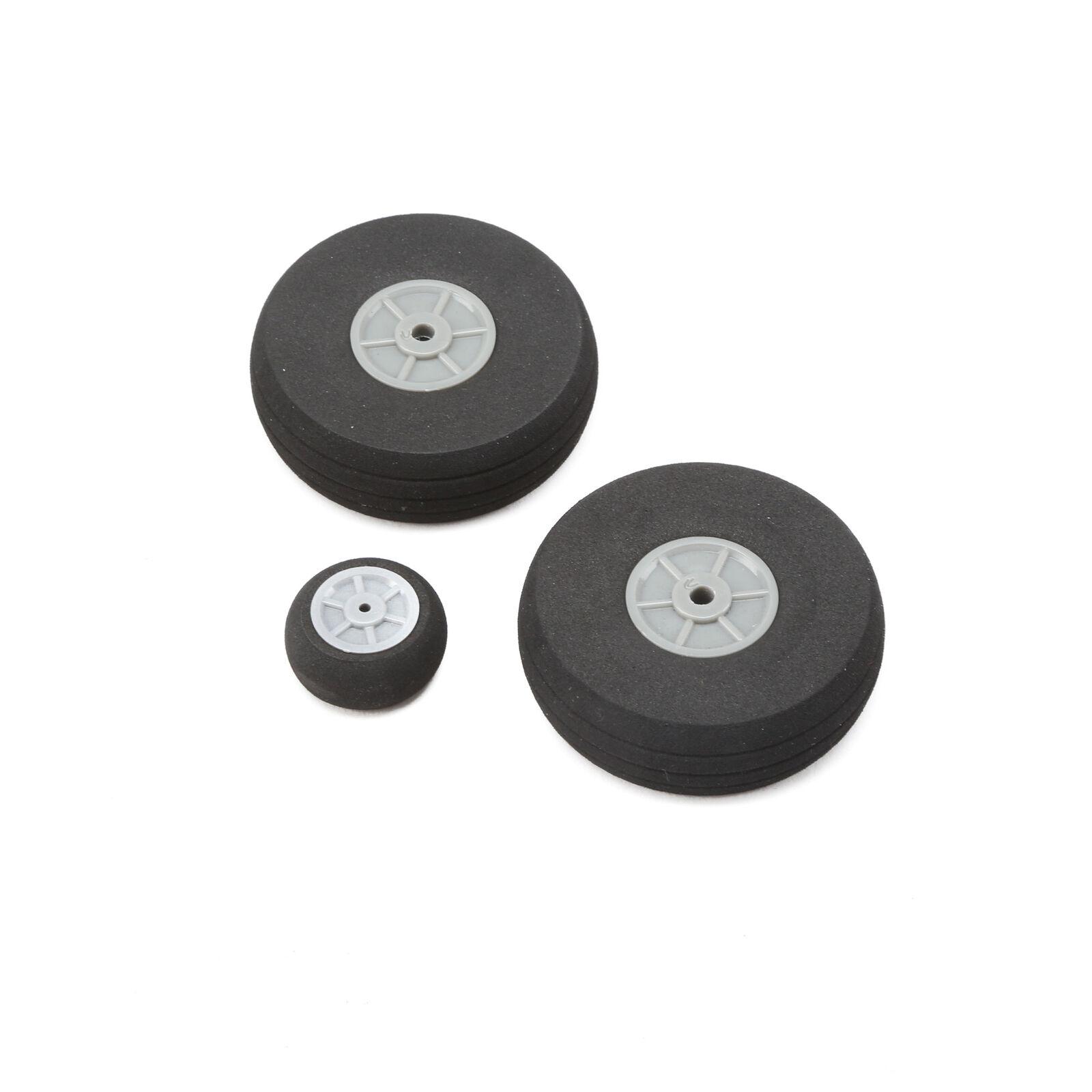 Wheels (2) 54mm (1)25mm: Commander mDp 1.4m