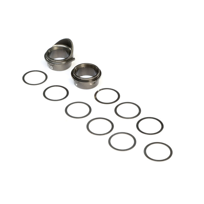 Rear Gearbox Bearing Inserts Aluminum: 8X, 8XE