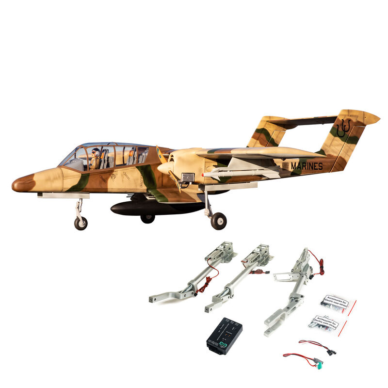 "OV-10 Bronco 30cc ARF, 108"" with Landing Gear Set"