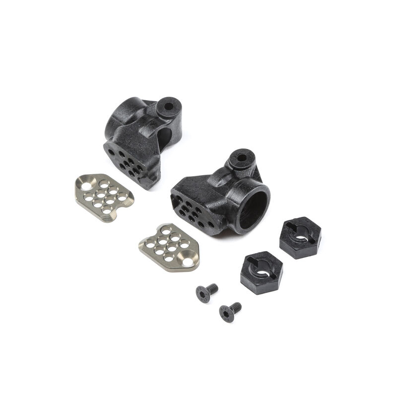 GenII Rear Hub Set, +3mm: All 22