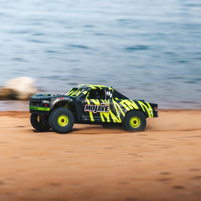 1/7 MOJAVE 6S BLX 4WD Brushless Desert Truck RTR, Green/Black