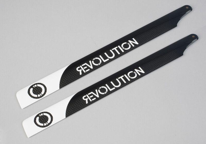 Revolution 325mm FBL 3D Carbon Hauptrotorblatt