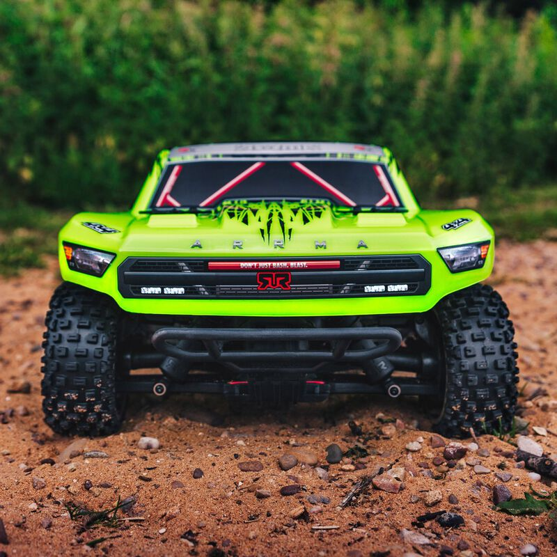 1/10 SENTON 3S BLX 4WD Brushless Short Course Truck with Spektrum RTR, Green/Black