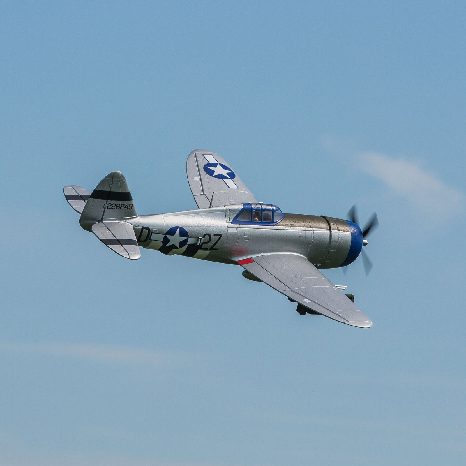 P-47 Razorback 1.2m BNF Basic with AS3X and SAFE Select